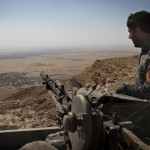 Ill-equipped and underpaid, <b>Kurdish</b> fighters hold ISIS militants at bay
