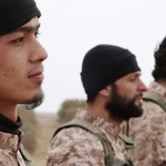 Westerners among knife-wielding militants in <b>ISIS</b> beheading video